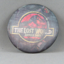 The Lost World (Jurassic Park)  Pin - Hologram Pin - Burger King Promo Item !!
