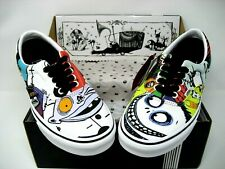 Vans x The Nightmare Before Christmas Halloween Town Era Men's Size 7.5 Women 9