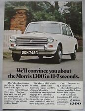 1969 Morris 1300 Original advert