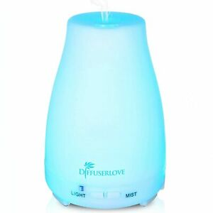 Diffuserlove Aroma Diffuser Essential Oils Ultrasonic Mist 200ml Brand New