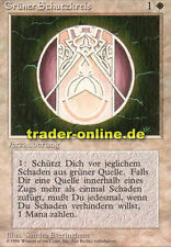 2x Protezione Verde Cerchio (Circle of Protection: Green) Magic limited black bordered