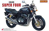 Aoshima 1/12 BIKE Honda CB400 Super Four (Black) Plastic Model Kit from Japan