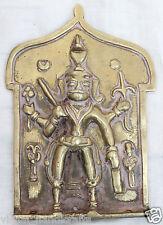Hindu God Figurine Old Antique Rich Patina Antique Brass