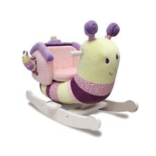 Little Bird Told Me Softly Snail Rocking Animal - Suitable From 9 Months
