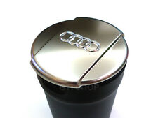 Audi OEM Q3 A3 M-Size Cup Chrome Lid Ash Tray Ashtray For New A3 A4 A5 Q3 Q5 Q7