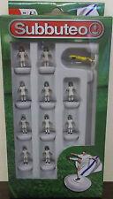 Subbuteo Table Football ~ White Team ~ Real Madrid Leeds United Paul Lamond
