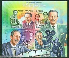GUINEA BISSAU 2013 100th  ANNIVERSARY WALT DISNEY SHEET IMPERFORATE