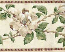 FLORAL Wallpaper BORDER Traditional Botanical Decor