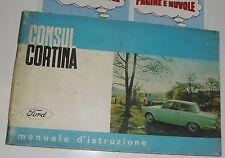 USO E MANUTENZIONE manuale auto FORD CONSUL CORTINA