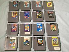 NES Lot of 16 games, all working, SMB 1-3, Metroid, MT Punch Out, Tetris, TMNT2