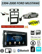 FORD MUSTANG 1994-2000 DVD TOUCHSCREEN USB AUX MP3 BLUETOOTH STEREO PKG