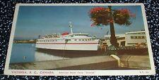 "American Motor Ferry ""Chinook"" Victoria B.C. Postcard Canada"