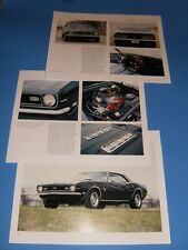 ★★1968 CHEVY CAMARO SS 396 PHOTO/POSTER LOT 68 SS396 67 69★★
