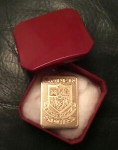 Rare vintage Super Spurs 9 carat gold pendant, Tottenham Hotspur.