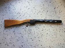 "RRR Unique Very Rear Antique Wooden&Tin Gun Toy WW2 SHPAGIN ""COOP SVOBODA SOFIA"""