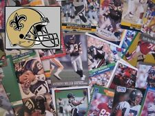NEW ORLEANS SAINTS - 1,000 Card Megalot (Assorted Players, Years, Companies)
