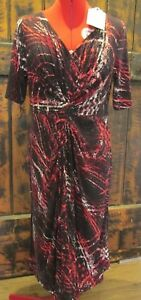 """""""BLUE ILLUSION"""" LADIES TUCK DRESS *NEW WITH TAGS* RRP $179.99 SIZE S (10)"""