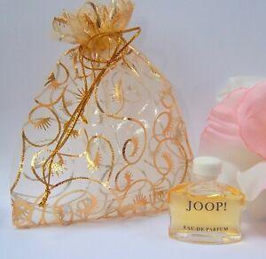 JOOP!     ~    MINI  /   Miniature  PERFUME 4ml eau de parfum  /  POUCH