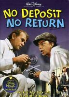 No Deposit No Return [New DVD]