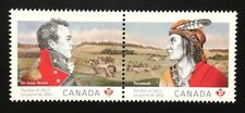 Canada #2554-2555a MNH, The War of 1812 Pair of Stamps 2012