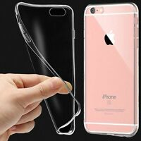 Slim Transparent Crystal Clear Case Gel TPU Soft Cover Skin For Various Phones