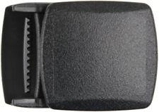 Black Plastic Durable Military Web Belt Buckle 1.25