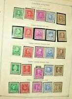 CatalinaStamps:  US Stamp Lot on Harris & Scott Pages, 1600 Stamps, Lot R6