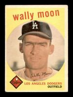 1959 Topps Set Break # 530 Wally Moon GD *OBGcards*