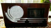 "Vintage.Radio receiver tube Opta ""Schlittschuh"" 537W 1937 year Rare."