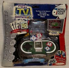 "World Poker Tour TV Games ""E"" Version (TV game system, 2004) by Jakks Pacific"