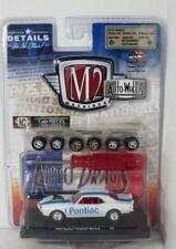 M2 Machines 1:64 Auto Wheels 6 - Pontiac Firebird 400 H.O. 1968 Brand new