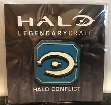 Loot Crate Exclusive Halo Legendary Crate Pin: Halo Conflict. December 2016