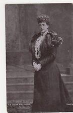 H.M. Queen Alexandra Postcard, B401