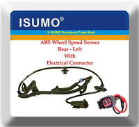 ABS Wheel Speed Sensor W/Connector Rear Left Fits Caliber Compass Patriot W/4WD