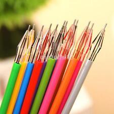 12Pcs/set Multicolor Gel Pen Draw Colored Painting Pens Student School Supplies