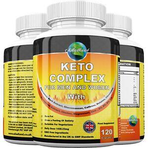 Keto Complex Diet Pills 1458mg Fat Burner Weight Loss Slimming, Ketosis, Tablets