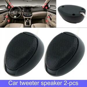 2x Universal 1000W Car Speaker Audio 4Ω Super Power Loud Dome Tweeter Speakers