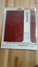 Griffin Elan Folio Slim Cover/ Case for IPAD 2nd  3rd and 4th GEN Dark Red