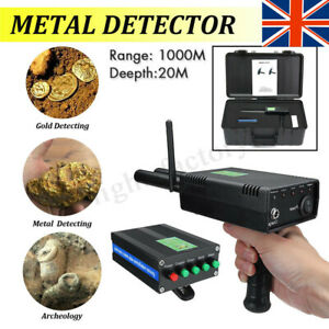 AKS PLUS Dual Probe Metal/Gold Treasure Detector Long Range Hunter  Machine 20m