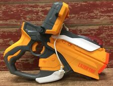 2012 Hasbro Lazer Tag Gun/Blaster/iPhone Dock/White & Orange/Laser/Free Shipping