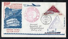 Russia 1977 22nd Antarctic Expedition Station Vostok Icebreaker M. Somov cover