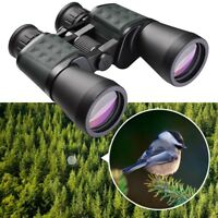 Wide Angle 10x50mm Binoculars Travel Birdwatching Waterproof Telescope Outdoor