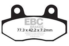 FIT SUPERBYKE  RMX 125 07>08 EBC REAR ORGANIC BRAKE PADS