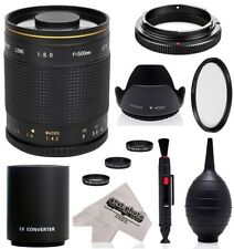Manual Focus SLR Teleconverter Camera Lenses for Canon