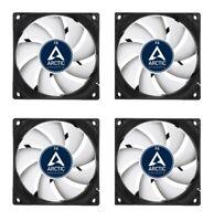 4 x Pack of Arctic Cooling F8 80mm Case Fans Rev.4 2000 RPM 31 CFM 12V 3-Pin