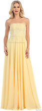 SIMPLE YET GORGEOUS EVENING GOWNS MADE OF HONOR PARTY DESIGNER FORMAL PROM DRESS