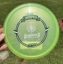 "Innova Team Champion Luster Leopard3 Drew Gibson ""Appoved"" 175g"