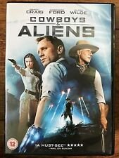 Daniel Craig Harrison Ford COWBOYS E ALIENS ~ 2011 fantascienza Western UK DVD