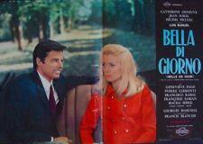 BELLE DE JOUR Italian fotobusta photobusta movie poster 8 DENEUVE LUIS BUNUEL