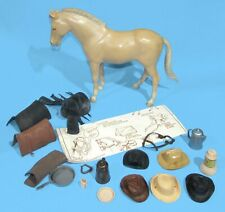 Marx Best of the West Johnny West Lot Horse & Accessories VG